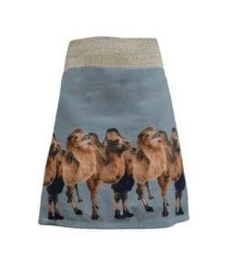 mixed skirt